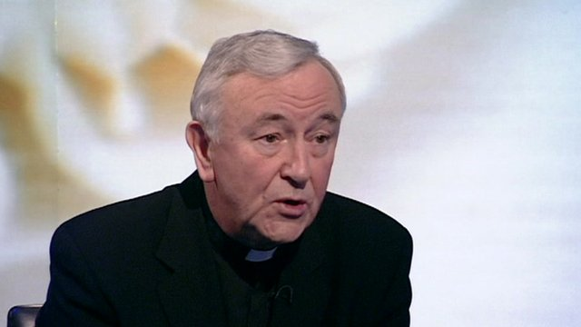 ... Church in England and Wales, Vincent Nichols, has likened committed gay ...