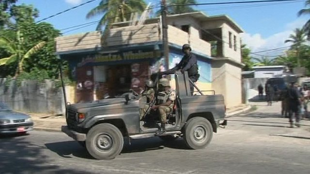 Police in Jamaica cracking down on drug gangs