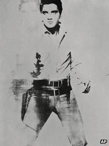 Double Elvis (Ferus Type) by Andy Warhol
