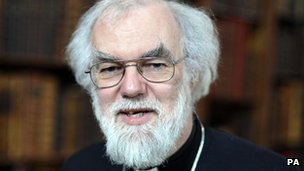 Archbishop of Canterbury Dr Rowan Williams