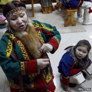 Theatre representation of Nenets people
