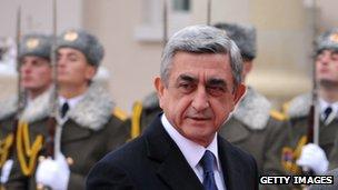 President Serge Sarkisian