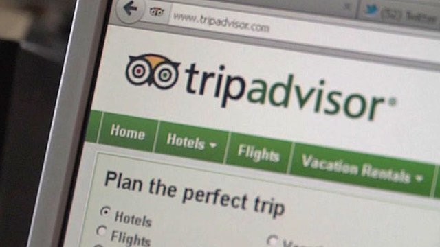 The tripadvisor website
