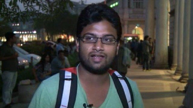 Cricket fans in Dhaka
