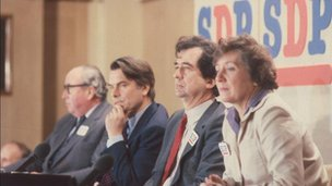 Roy Jenkins, David Owen, Bill Rodgers, Shirley Williams