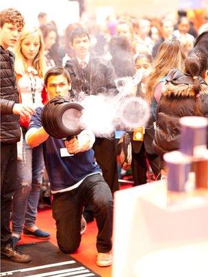 Explosion at Big Bang Fair