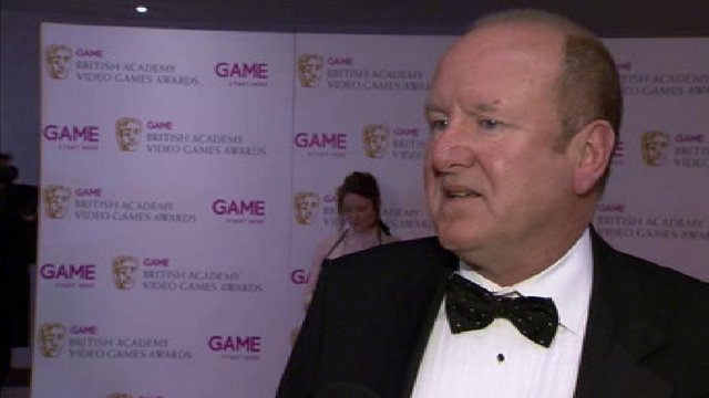 Life president of Eidos Ian Livingstone