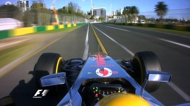 Lewis Hamilton's pole lap