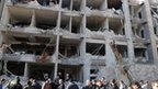 'Deadly blasts' in Syrian capital