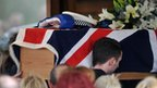 Pc Rathband&#039;s coffin
