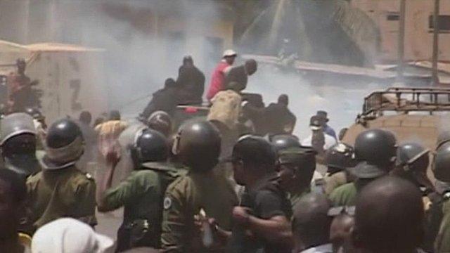 Guinea clashes