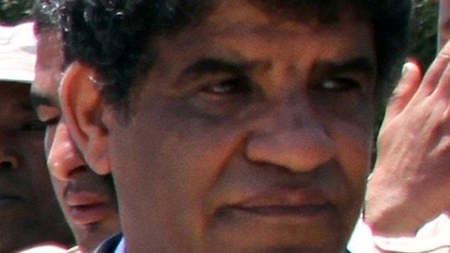Abdullah al-Senussi in Tripoli - photo 22 June 2011