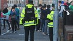 There was an increased police presence in the area over the St Patrick's weekend