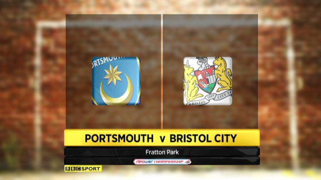 Portsmouth 0-0 Bristol City