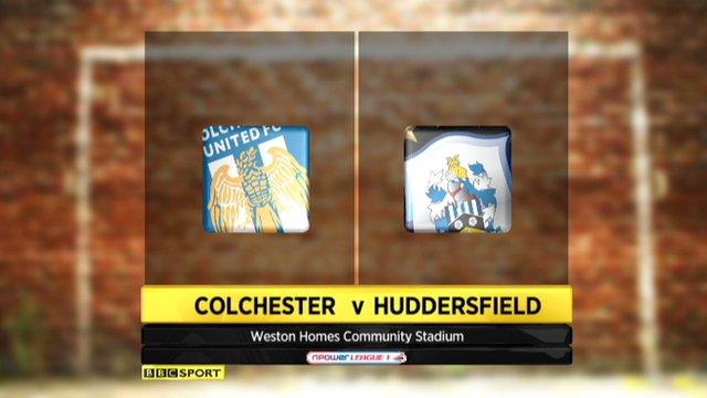 Colchester 1-1 Huddersfield