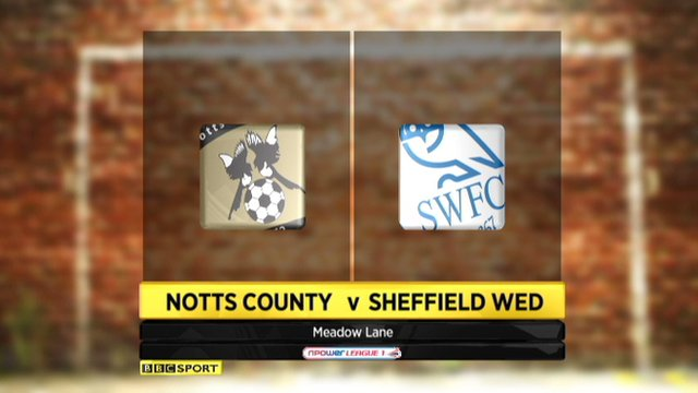 Notts County 1-2 Sheff Weds