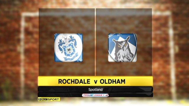 Rochdale 3-2 Oldham