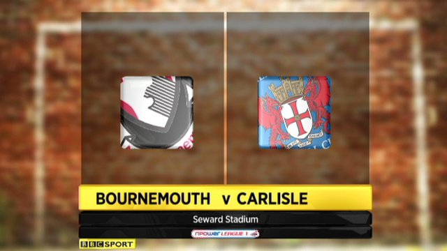 Bournemouth 1-1 Carlisle