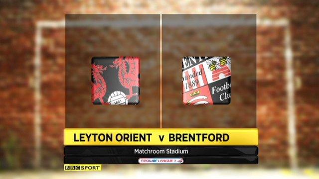 Leyton Orient 2-0 Brentford
