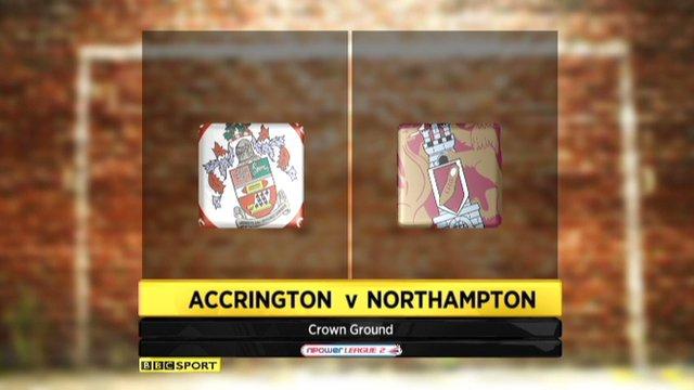 Accrington 2-1 Northampton