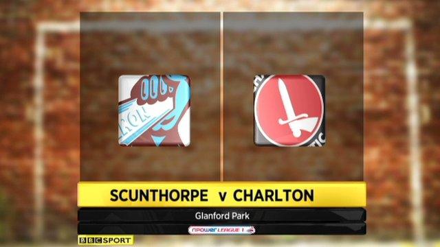 Scunthorpe 1-1 Charlton