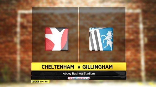 Cheltenham 0-3 Gillingham