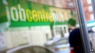 Jobcentre Plus window