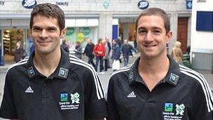 Rob Smart (left) and Thomas Hollingsworth