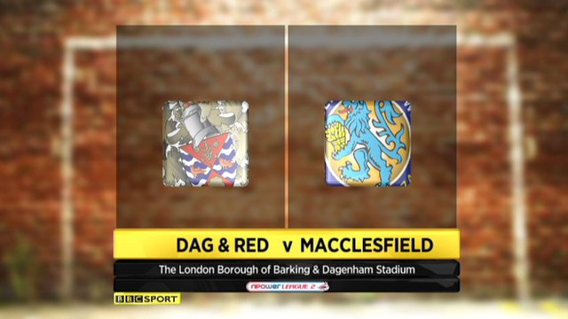 Dag & Red 2-0 Macclesfield