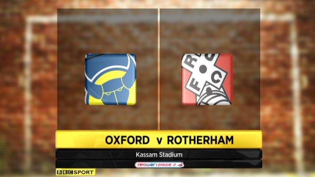 Oxford 2-1 Rotherham