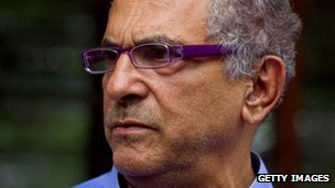 Jose Ramos-Horta after casting vote - 17 March