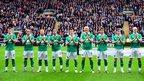 Norwich players' tribute to Fabrice Muamba