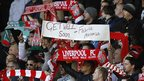 Liverpool fans' message to Fabrice Muamba