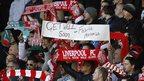 Liverpool fans' message to Fabrice Muamba