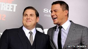 Jonah Hill (left) and Channing Tatum