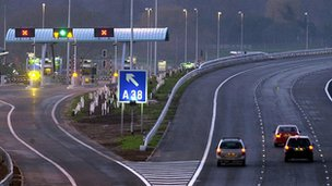 The day the M6 toll road opened