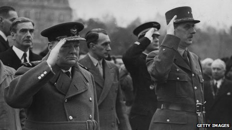 Churchill and De Gaulle