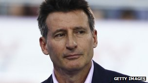 Lord Sebastian Coe