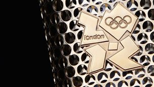 London 2012 Olympic relay torch