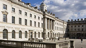 The law school will be based at Somerset House East Wing