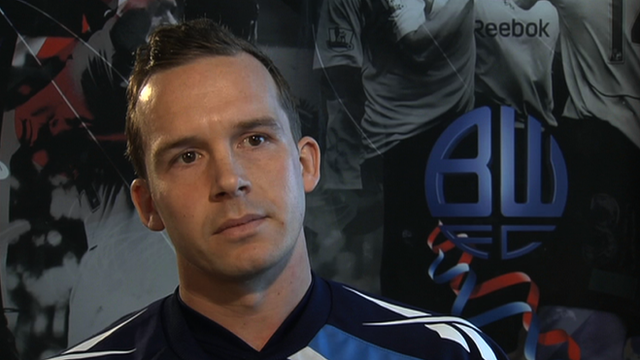 Bolton captain Kevin Davies