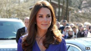 Duchess of Cambridge visits East Anglia's Children's Hospices
