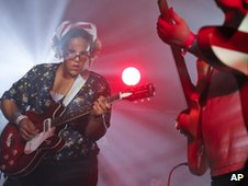 The Alabama Shakes, with Brittany Howard
