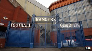 Gates at Ibrox
