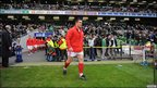 Huw Bennett leads Wales out