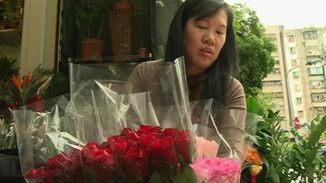 Taiwanese florist