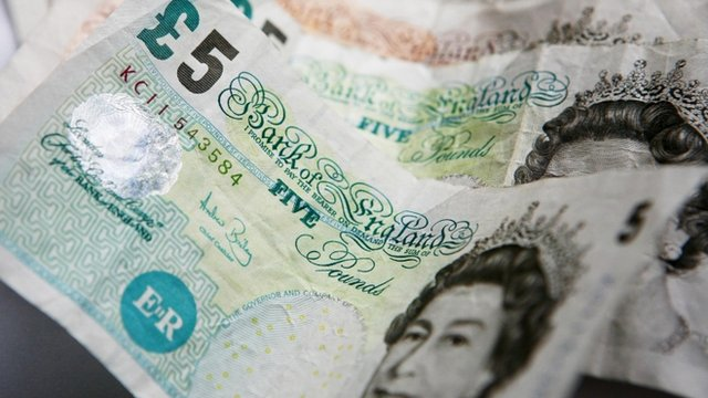 £5 and £10 notes