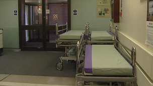 The Royal College of Nursing is concerned about the situation at the RVH