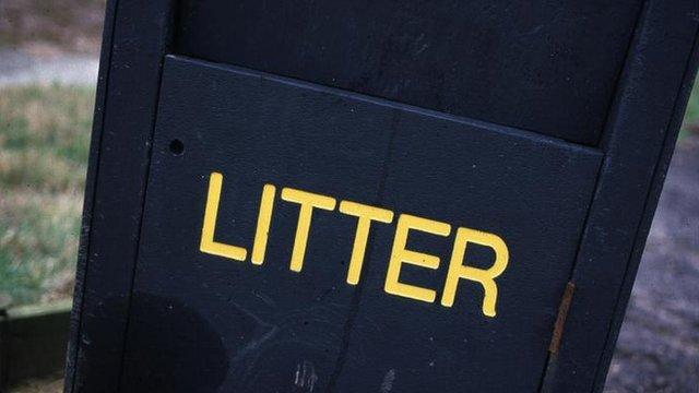 A litter bin