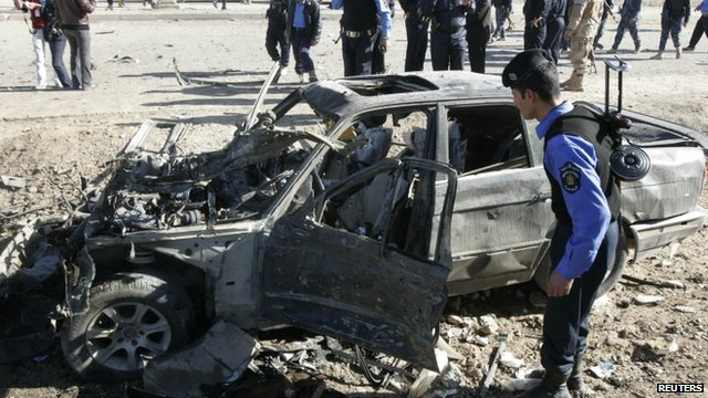 Kirkuk blast aftermath